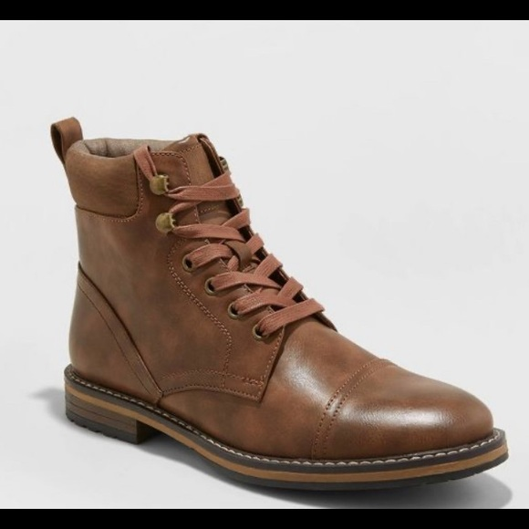 Men's Brown Jeffery Fashion Boots Goodfellow & Co